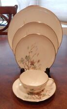 """LENOX """"WESTWIND"""" X-407 PATTERN 5 PIECE PLACE SETTING (S) MADE IN USA EXCELLENT!!"""