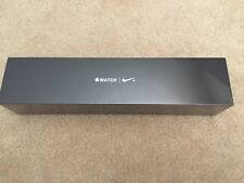Apple Watch Series 2 Nike+ 38mm Aluminum Case Black/Cool Gray Sport Band. New!!