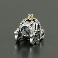 Authentic Pandora Silver Cinderella's Pumpkin Coach Disney Charm - 791573CZ
