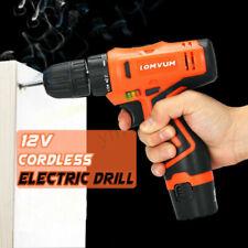 Taladros sin cable eléctricos sin marca 12 V