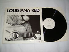 LP - Louisiana Red Back to the Roots - Autogramm Autograph Signed # cleaned
