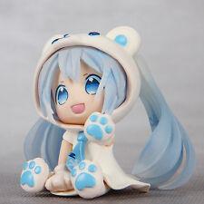 "3"" Polar Bear Hatsune Miku Anime PVC Action Figure Toy Gift"