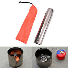1pc Top Sell Titanium Camping Stove Wind Shield Screen Windproof Plate