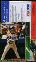 JEFF BAGWELL PSA DNA COA Autographed 1993 TOPPS STADIUM CLUB Authentic Signed