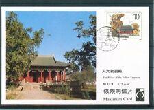 La Cina, Lot con 9x Maximum card e tutta cose