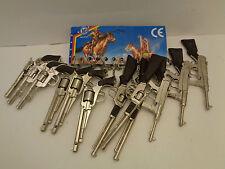 Revolver + Gewehre 12 Stück mit Schlüsselanhänger  90er Jahre