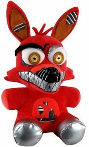 """NIGHTMARE FOXY FIVE NIGHTS AT FREDDYS FNAF FUNKO AUTHENTIC 6"""" PLUSH NEW w/ TAGS"""