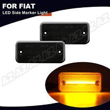 2X LED Seitenmarkierungsleuchte Für Fiat Ducato 2001-2019 Gelb Licht Geräucherte