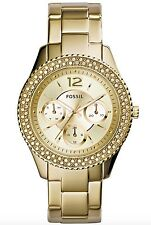Fossil Watch * ES3589 Stella Multifunction Gold Steel for Women COD PayPal