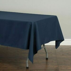 Tablecloth Rectangular Polyester Tablecloth Wedding Event Party Pick Color/Size