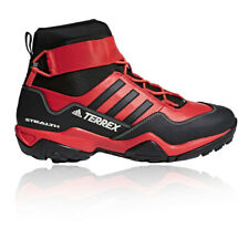adidas Mens Terrex Hydro Lace Boot Black Red Sports