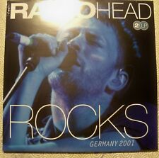 "RADIOHEAD ""ROCKS GERMANY"" DOUBLE LP LIVE ROCK AM RING 2001 SOUNDBOARD VP80106"