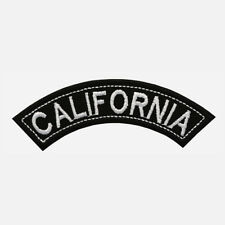 CALIFORNIA Embroidered Biker Patches