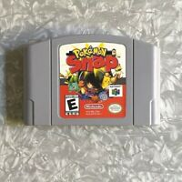 N64 Pokemon Snap Nintendo 64 Authentic Cartridge Cleaned & TESTED Free Ship!