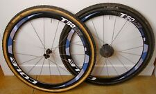 Cole T-50 Lite Carbon Tubular Wheelset w/ Dugast Rhino Cyclocross Tires - 10 Spd