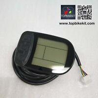 24V/36V/48V KT-LCD5 Display 24V/36V/48V Meter Control Panel for ebike black