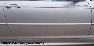 BMW E46 Coupe/Cabrio TÜR RECHTS/LINKS LACKIERT + WUNSCHFARBE 1997-2007