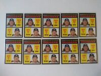 Gavin Lux & Dustin May 2020 Topps Heritage 10 rookie Card Lot RC PSA ready #188