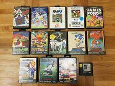 SEGA Mega Drive Games Bundle Job Lot - 14 Games