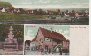Gruß aus Perouse, Spezereihandl. Wurster gl1928 63.273