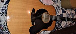 Oregon dreadnought Breedlove guitar.
