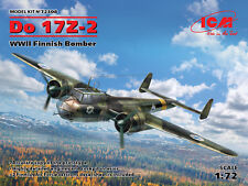 ICM 1/72 Dornier Do-17Z-2 WWII Finnish Bomber # 72308