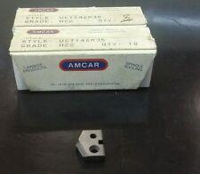 UCD146R35 GRADEH22 AMCAR NEW CARBIDE DRILL INSERTS 13 PCS