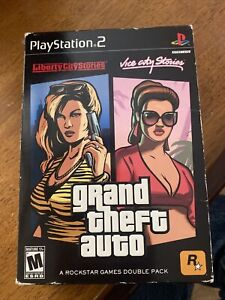 Grand Theft Auto Double Pack: Liberty City Stories & Vice City Stories(PS2)