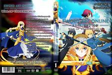 Sword Art Online Alicization+War of Underworld (Vol 1-47end) English Dubbed DVD