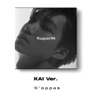 SUPER M 1st Mini Album KAI Ver. CD+Booklet+Mini Booklet+Random Card+Poster Kpop