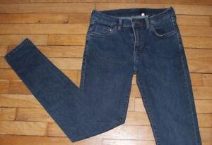 H&M  Jeans pour Femme W 29 - L 32 Taille Fr 38 (Réf #V114)