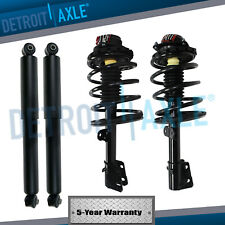 New 4pc Kit Front Quick Install Strut & Rear Shock Absorber Suspension Set