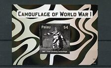 Palau 2015 MNH Camouflage of World War One 1v S/S WWI First World War