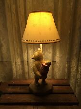 Winnie The Pooh Resin Lamp With Shade