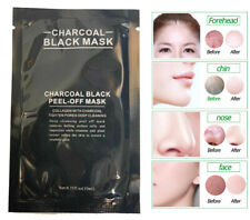 10ml Mask Peel Blackhead Face Remover Black Deep-Off Acne Charcoal Cleansing Mud