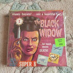 Super 8 / 8mm Film - The Black Widow