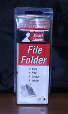 Seiko Smartlabel Slp-4afl File Folder Label Blue, Red, Green, White