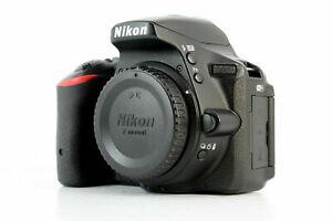 Nikon D5500 24.2MP Digital SLR Camera - Black (Body Only)