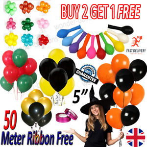 "20 X PLAIN 5""INCH Balloons Quality Party Birthday Wedding non helium/air balloon"