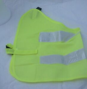 Dogs High Vis jacket -Yellow Safety Coat - Reflective Jacket - XXL - Brand New