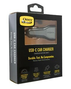 Otterbox USB-C & USB-A Fast Charge Dual Port Car Charger