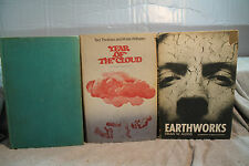 lot vtg old Sci-Fi EARTHWORKS YEAR OF THE CLOUD LOOKING FORWORD ANTHOLOGY SF