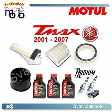 TAGLIANDO T-MAX 2002 3 LITRI MOTUL 300V + FILTRI ARIA + FILTRO OLIO + IRIDIUM