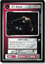 Star Trek CCG TwT Trouble with Tribbles I.K.C. Ning'tao 111R x3