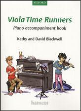 Viola tempo corridori accompagnamento al pianoforte LIBRO