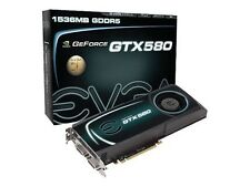 2x EVGA NVIDIA GeForce GTX 580 SLI-Ready (015-P3-1580-AR) with SLI cable