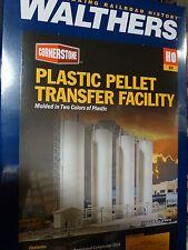 "Walthers Cornerstone HO #3081  Plastic Pellet Transfer -- Kit - 20 x 4 x 8-1/4"""