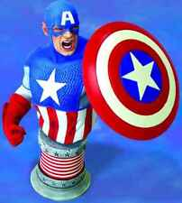 Marvel Comics Ultimate Captain America Limited Bust Statue Diamond Select .