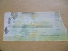Ticket- UEFA CUP 2002, MALAGA CF v LEEDS UNITED