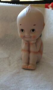 "Antique German Kewpie ""THINKER"" Rose O'Neill ~ 4"""